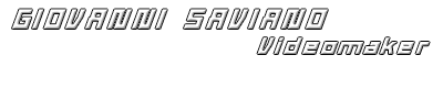 Giovanni Saviano – Videomaker